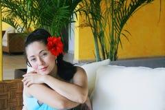 Lateinisches Portrait Stockfotos