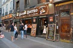 Lateinisches Viertel von Paris Stockbild