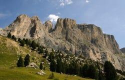 Latemar Dolomites Royaltyfri Bild