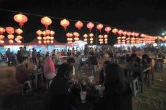 Latenr festiwal w Indonezja obraz royalty free