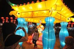 Latenr festiwal w Indonezja fotografia royalty free