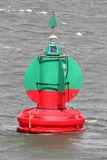 Lateral buoy Royalty Free Stock Photo