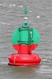 Lateral buoy Royalty Free Stock Photo