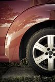 Lateral car Royalty Free Stock Photography