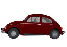 Lateral clássica do carro ilustração royalty free