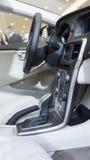 Opinión interior del coche Foto de archivo