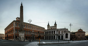 Lateran宫殿在罗马,意大利 免版税库存照片