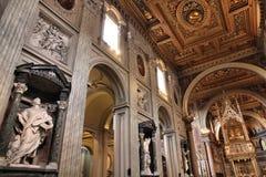 Lateran Basilica Stock Image