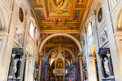 Lateran Basilica, Rome, Italy Stock Image