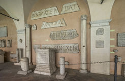 Lateran cloiester σε Archbasilica του ST John Lateran Arcibasil Στοκ φωτογραφία με δικαίωμα ελεύθερης χρήσης