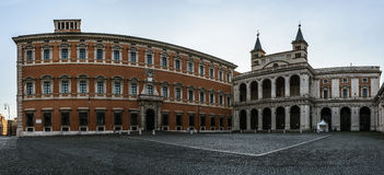 Lateran Palace in Rome, Italy Royalty Free Stock Photos