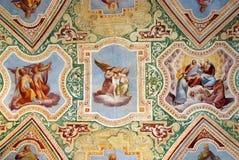 Lateran wall paint royalty free stock photo