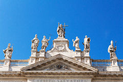 Laterano Al SAN Giovanni, Christo Salvatori στοκ εικόνες με δικαίωμα ελεύθερης χρήσης