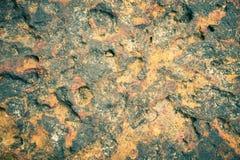 Laterite πέτρινη σύσταση ή πέτρινο υπόβαθρο για το σχέδιο στον τρύγο Στοκ Φωτογραφίες