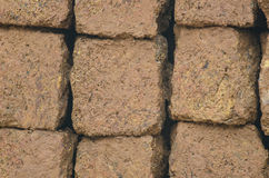 Laterite bricks Stock Photography