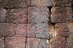 Laterite with crack background 05 Royalty Free Stock Image