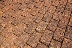 Laterite floor Royalty Free Stock Images