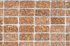 laterite gjorda stenväggar Royaltyfria Foton