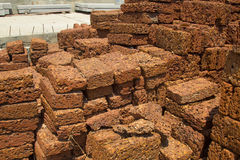 Laterite pile a hazel Royalty Free Stock Image