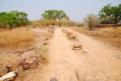 Laterite road Royalty Free Stock Photo