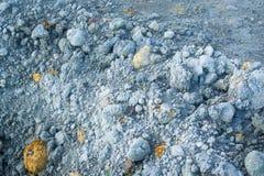 Laterite soil Stock Image