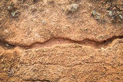 Laterite soil Royalty Free Stock Photo