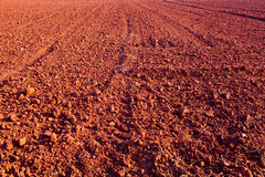 Laterite Soil texture. Red gravel floor background texture stock images