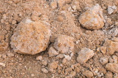 Laterite soil Stock Image