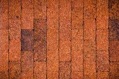 Laterite-Steinwand, Hintergrund Lizenzfreies Stockfoto