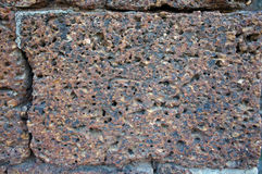 Laterite stone. stock image