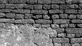 Laterite stone material monochrome Royalty Free Stock Photography