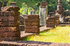 Laterite stone in row Royalty Free Stock Images