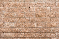Laterite stone wall background Royalty Free Stock Photos