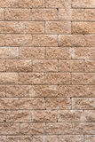 Laterite stone wall background Royalty Free Stock Photography