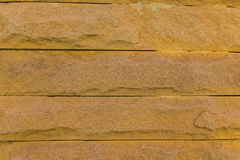 Laterite stone wall surface with cement Stock Images