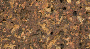 Laterite texture Stock Images