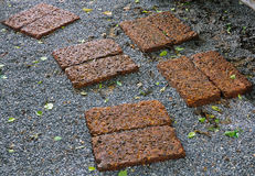 Laterite Walkway Royalty Free Stock Image