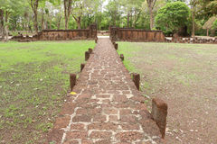 Laterite Walkway Royalty Free Stock Photography