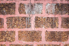 Laterite wall Royalty Free Stock Photo