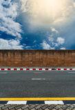 Laterite wall fence Royalty Free Stock Image