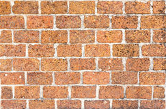 Laterite wall tiles Royalty Free Stock Images