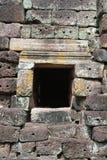 Lateriteväggen texturerar på Phanom ringde tempelet Royaltyfria Foton