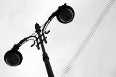 Latern sul cielo leggero Immagine Stock Libera da Diritti
