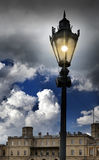 Laterne auf dem Quadrat vor dem Palast Gatchina St Petersburg Russland Stockfotografie