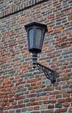 Laterne auf der Festungswand Stockfotografie