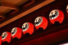 Laterne der japanischen Art Stockfotografie