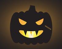 Laterne Halloween-Vampirs-O Lizenzfreies Stockfoto