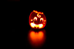 Laterne Halloweens Jack O Lizenzfreie Stockfotos