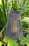 Laterne im Garten Lizenzfreie Stockfotografie