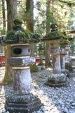 Laterne in Nikko Stockfotos